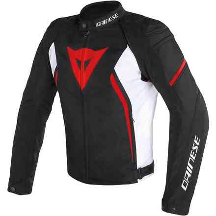 Avro D2 Tex jacket black white red Dainese