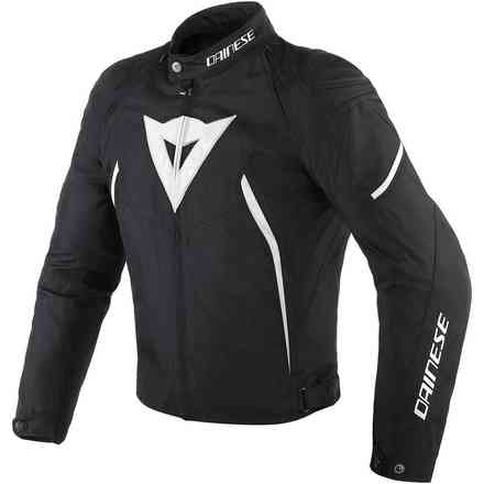 Avro D2 Tex jacket black white Dainese