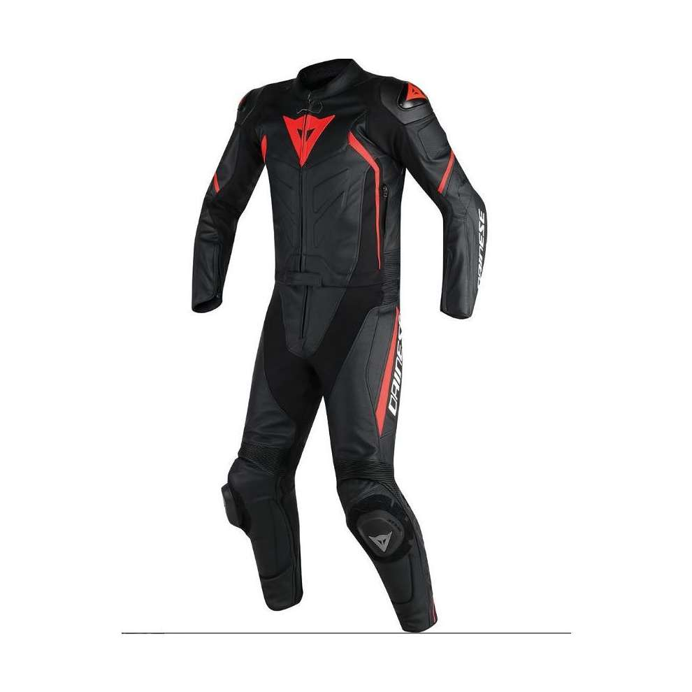 Avro Suit 2 Pcs D2 black-red Dainese
