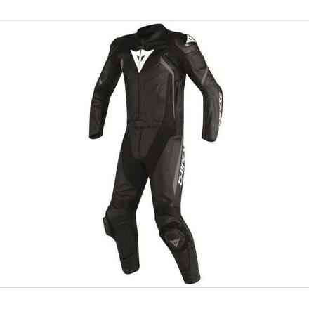 Avro Suit 2 Pcs D2 perforated black anthracyte Dainese