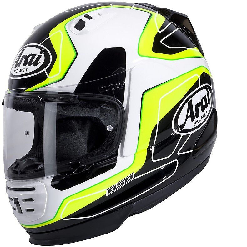 Axces II Flow Green Helmet Arai