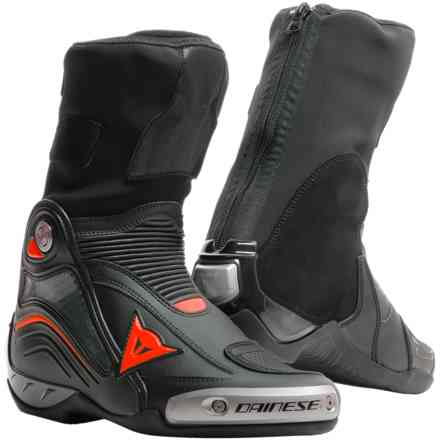 Axial D1 boots black fluo red Dainese
