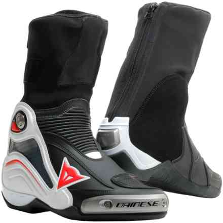 Axial D1 boots black white red Dainese