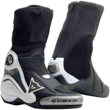 Axial D1 boots black white Dainese