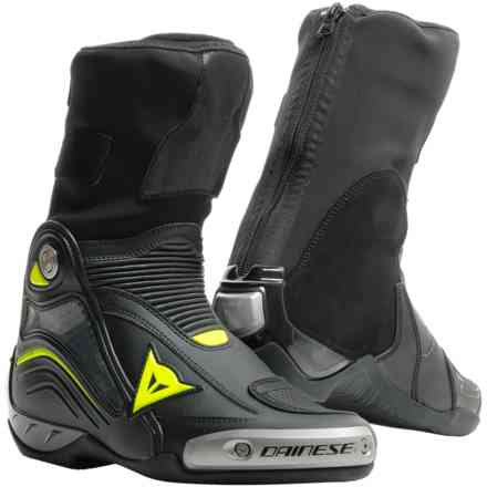 Axial D1 boots black yellow fluo Dainese