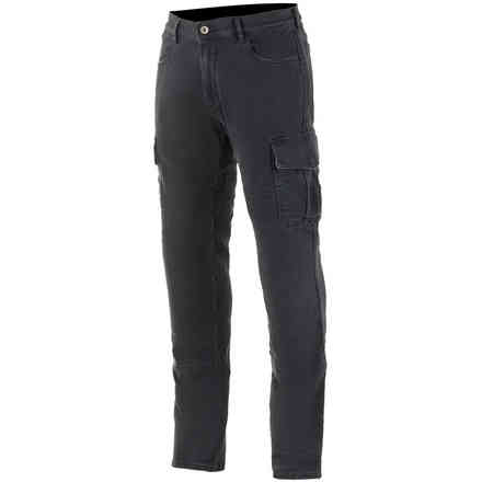 Barton Riding Cargo Pants Rinse Plus Black Alpinestars