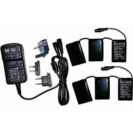 Battery Kit 12 volt 3.0 amps for gloves and stockings Klan