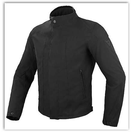 Baywood Black D-Dry Jacket Dainese