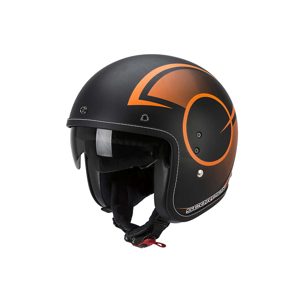 Belfast Citurban black-orange matt Helmet Scorpion
