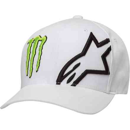 Berretti Monster Corp Hat White Alpinestars