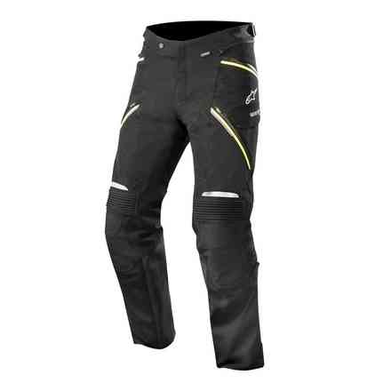 Big Sur Gore-tex Pro pant Black yellow fluo Alpinestars