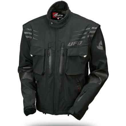 Black Taiga Enduro jacket Ufo