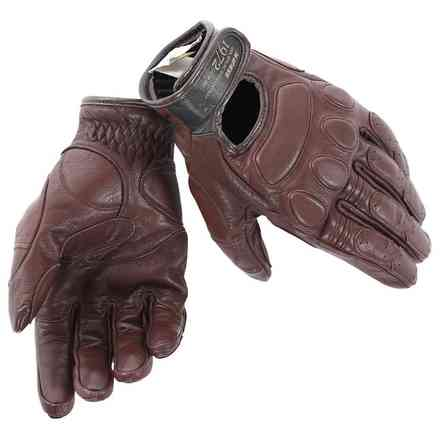 Blackjack Gloves brown Dainese