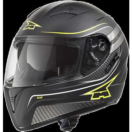 Blade Helmet black-yellow Axo