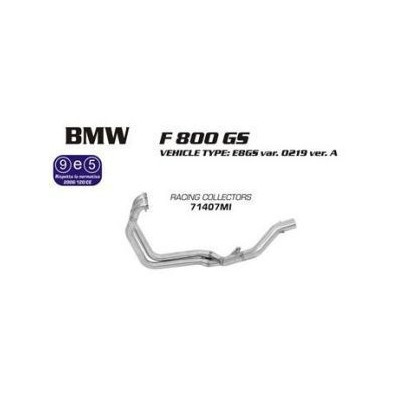 BMW F 800 GS Racing Manifolds Arrow