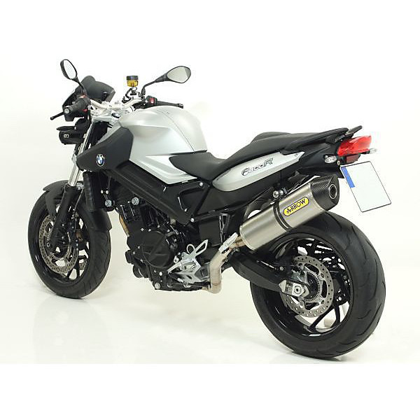 BMW F 800 R '09 Terminal Maxi Race-Tech titane caseback Carby Arrow