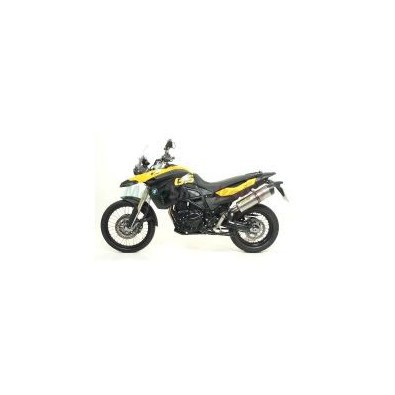 BMW F650 GS - F800 GS Terminal Exhaust Titanium with carbon cap Arrow