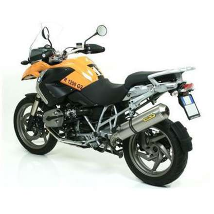 Bmw R 1200 Gs / Adventure 2004/2009 Terminale Titanio Omologato Arrow