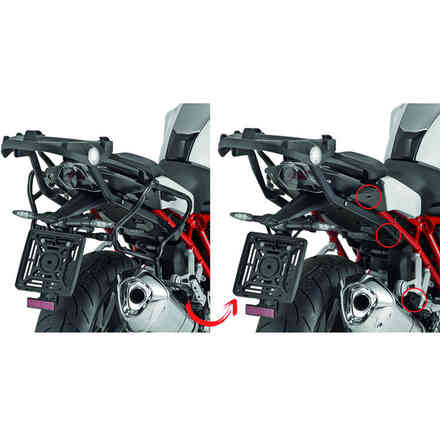 Bmw R1200r '15 Side Door Holder Givi