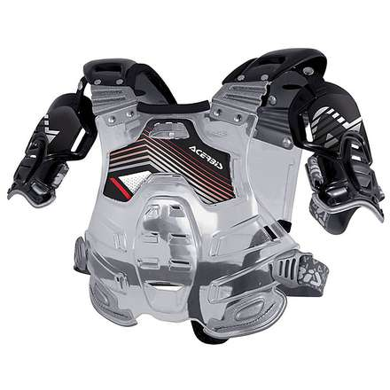 Bomber Protection trasparent-black Acerbis