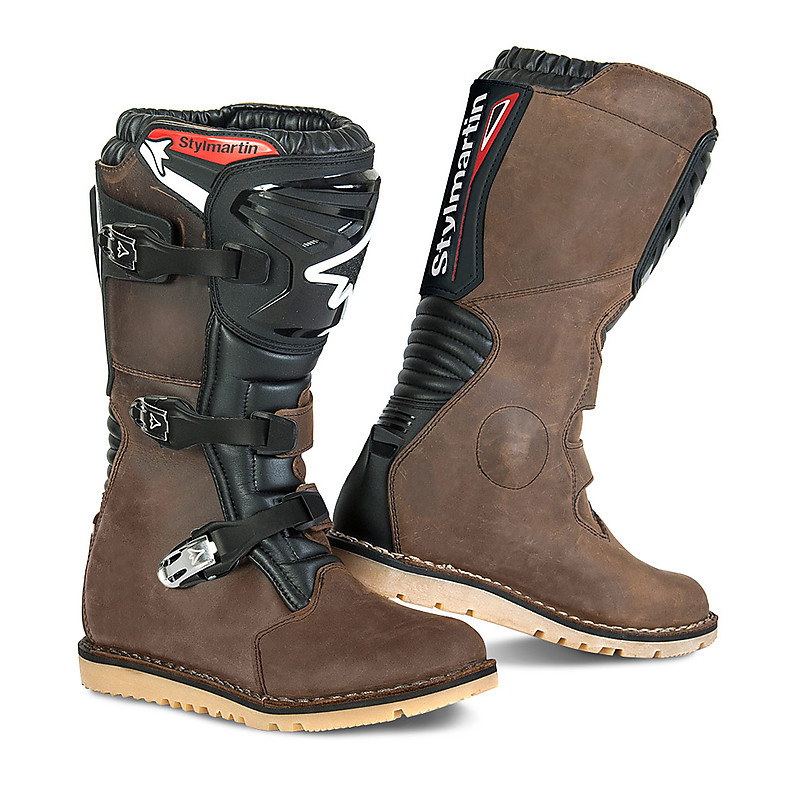Boot impact procès RS Touring aventure Stylmartin