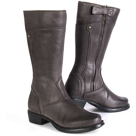 Boot touring Sharon dark brown woman Stylmartin