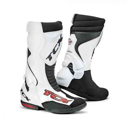 Boots 7802 Racing Speedway White-Black Tcx