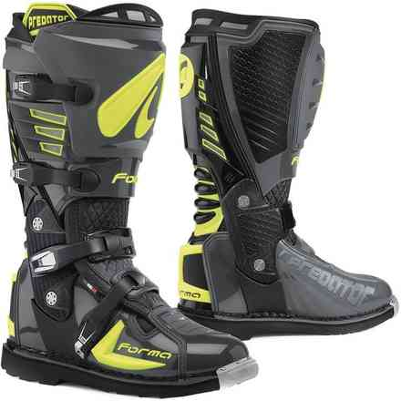 Boots Predator 2.0 anthracite / yellow fluo Forma