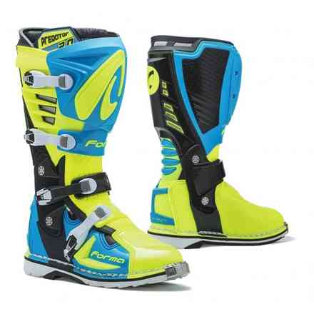 Boots Predator 2.0 Light Blue/Yellow fluo Forma