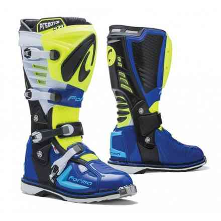 Boots Predator 2.0 Yellow fluo/White/Blue Forma
