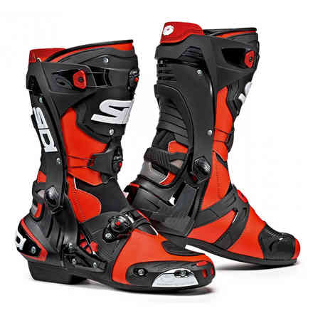 Boots Rex Fluo Red Black Sidi