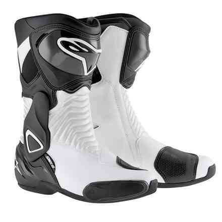 Boots S-mx 6 black-white Alpinestars