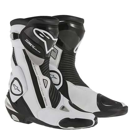 Boots Smx plus new 2015 black-white Alpinestars