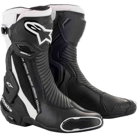 Boots Smx Plus V2 Black White Alpinestars