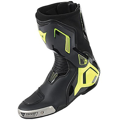 Boots Torque D1 out  black-yellow fluo Dainese