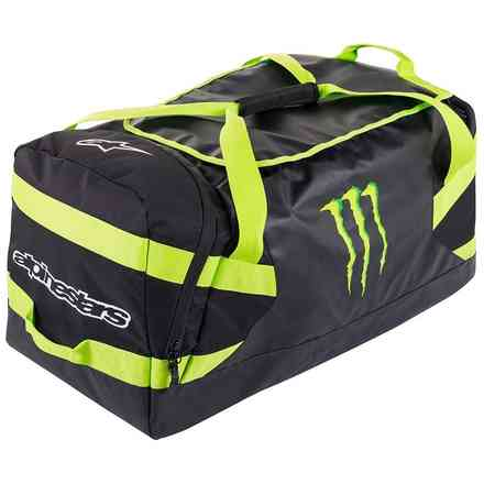 Borsa morbida Spacewarp Duffle Bag Nero Verde Alpinestars