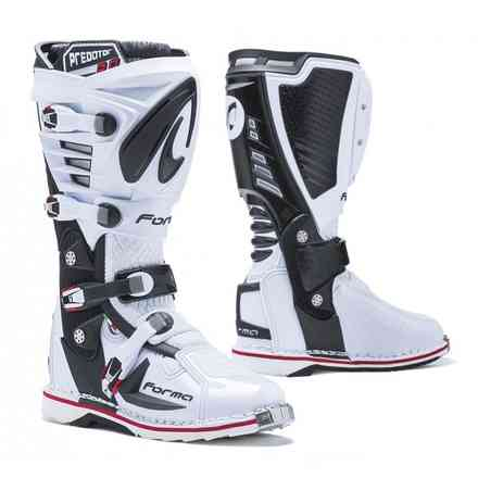 Bottes Predator 2.0 blanches Forma