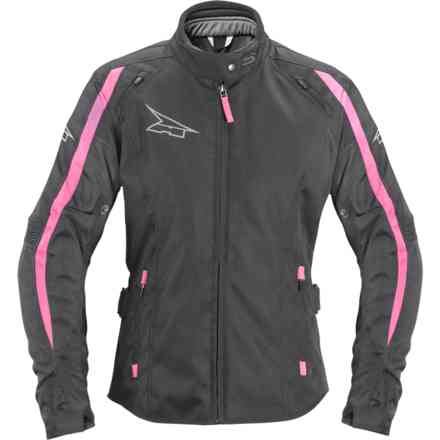 Brave Jacket woman black fuchsia Axo