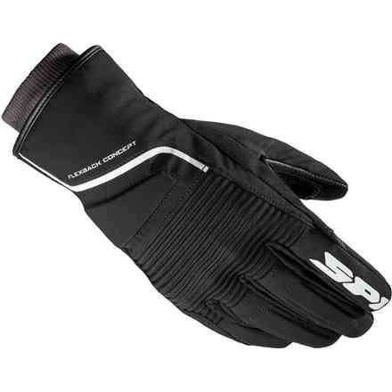 Breeze Lady gloves black white Spidi