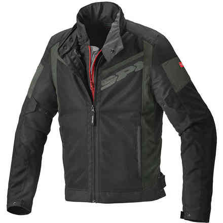 Breezy Net H2out jacket black green Spidi