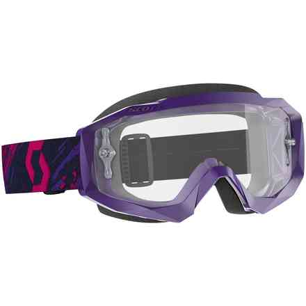 Brille Hustle X Mx Purple Pink Clear Works Scott