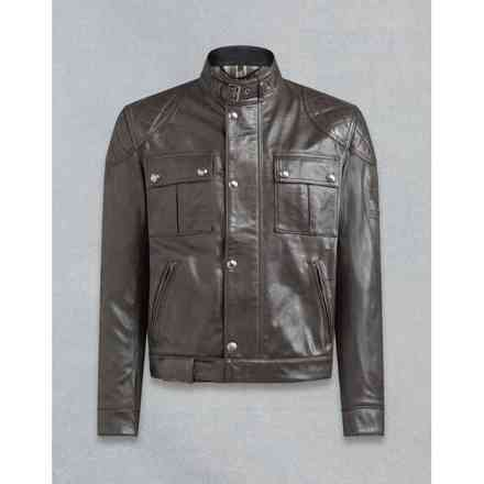 Brooklands Antique Black jacket Belstaff