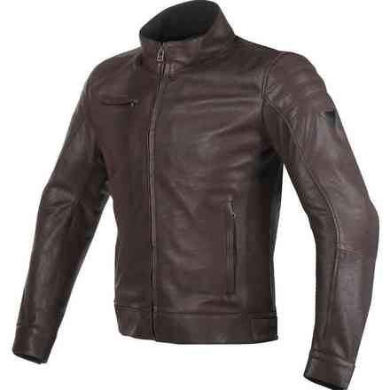 Bryan leather Jacket brown Dainese