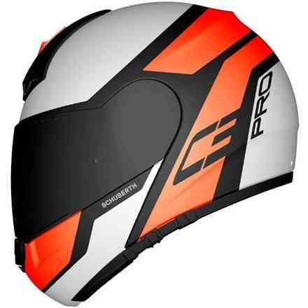 C3 Pro Echo Orange helmet Schuberth