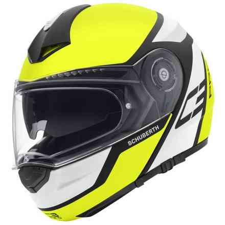 C3 Pro Echo yellow Helmet Schuberth