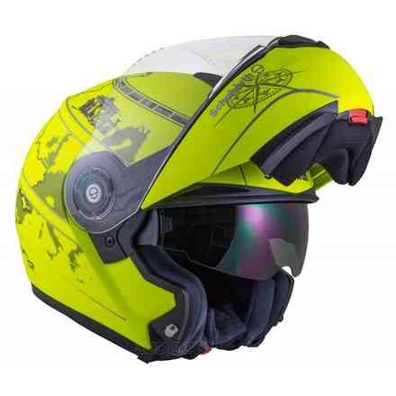 C3 Pro matt fluo yellow Europe helmet Schuberth