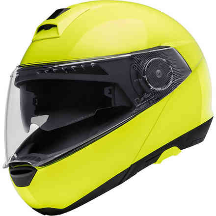 C4 Fluo Yellow Helmet Schuberth