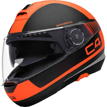 C4 Legacy Orange Helmet Schuberth