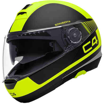 C4 Legacy Yellow Helmet Schuberth