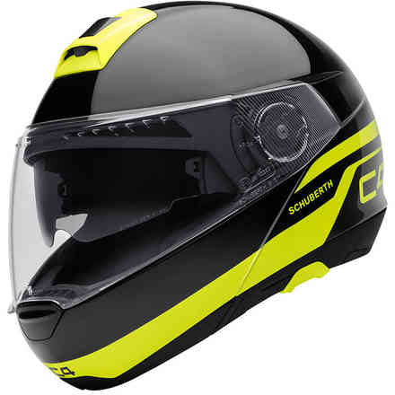 C4 Pulse Black Helmet Schuberth